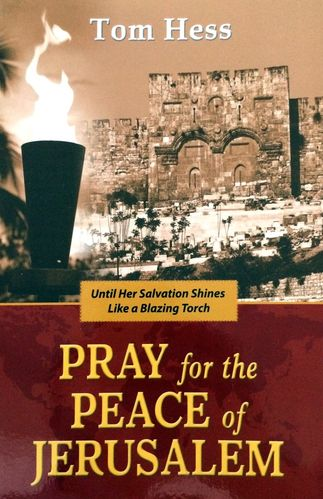 Buch - Tom Hess: Pray for  the Peace of Jerusalem